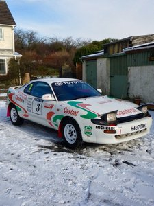 """1990 Toyota Celica GT """"homage"""" to WRC of 1990's"""