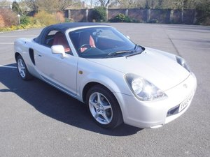 **MARCH AUCTION**2000 Toyota MR2 Roadster SOLD by Auction