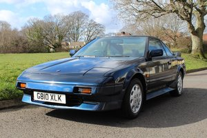 Toyota MR2 MK1 1989 - to be auctioned 26-04-19