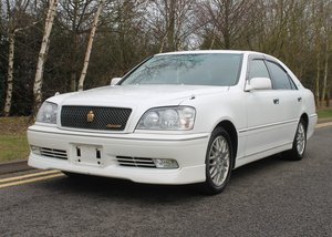 2002 TOYOTA CROWN ATHLETE V 1JZ-GTE TURBO WHITE For Sale