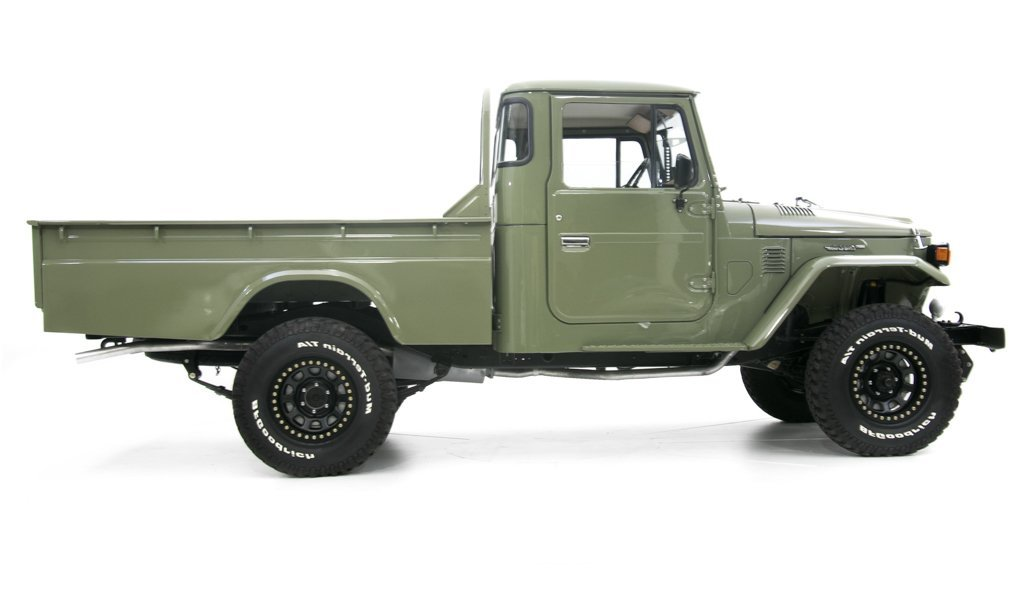1978 Toyota Land Cruiser HJ-45 Long Bed Pickup = Rare 1 off For Sale (picture 2 of 6)