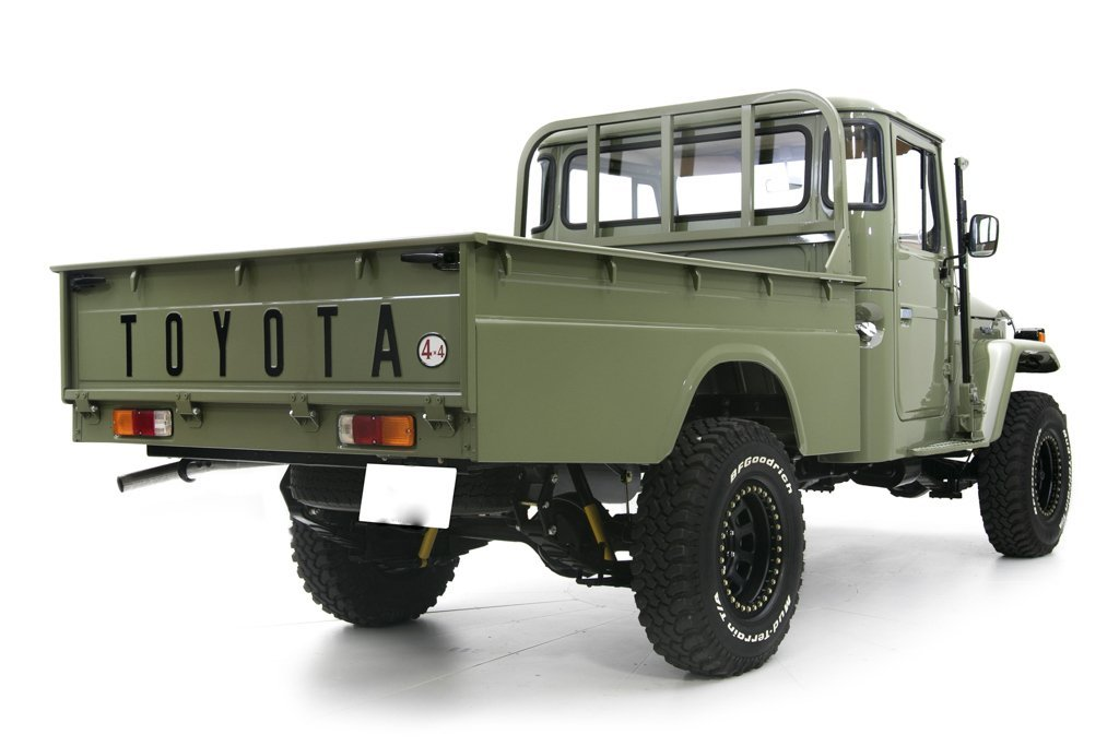 1978 Toyota Land Cruiser HJ-45 Long Bed Pickup = Rare 1 off For Sale (picture 3 of 6)