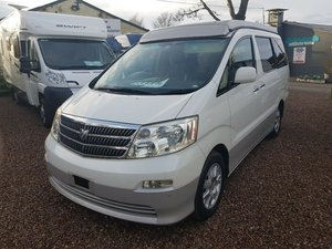 2002 Toyota Alphard G - 4 berth Pop Top and Rear Conversion For Sale