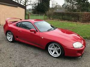 1993 TOYOTA SUPRA TWIN TURBO AUTO IN RED STUNNING!!!!  SOLD