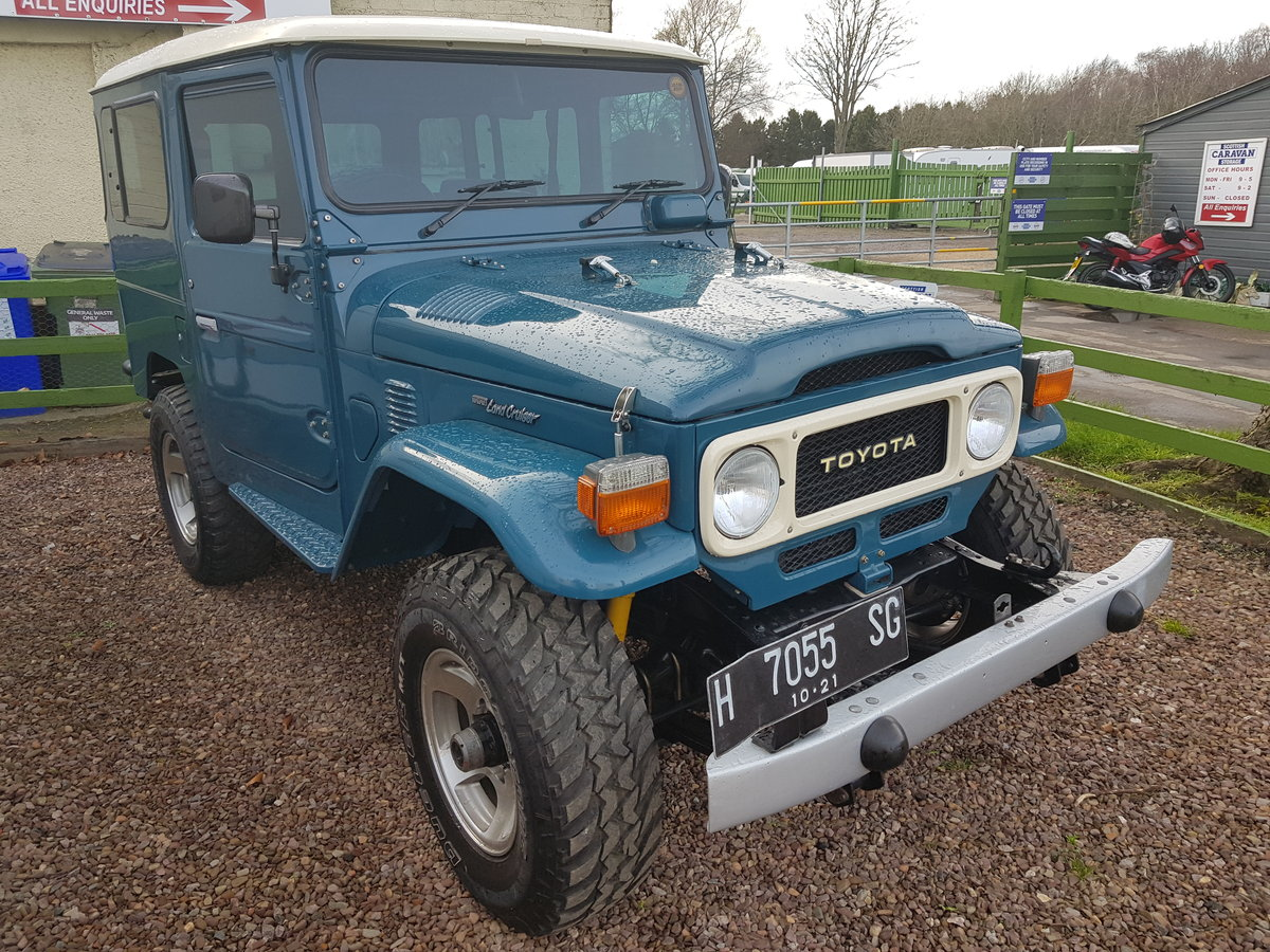 Classic Toyota Land Cruiser FJ40 1978 full body restoration For Sale (picture 1 of 6)