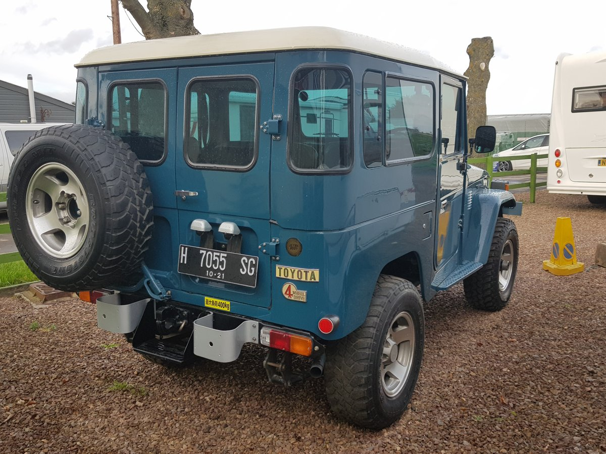 Classic Toyota Land Cruiser FJ40 1978 full body restoration For Sale (picture 6 of 6)