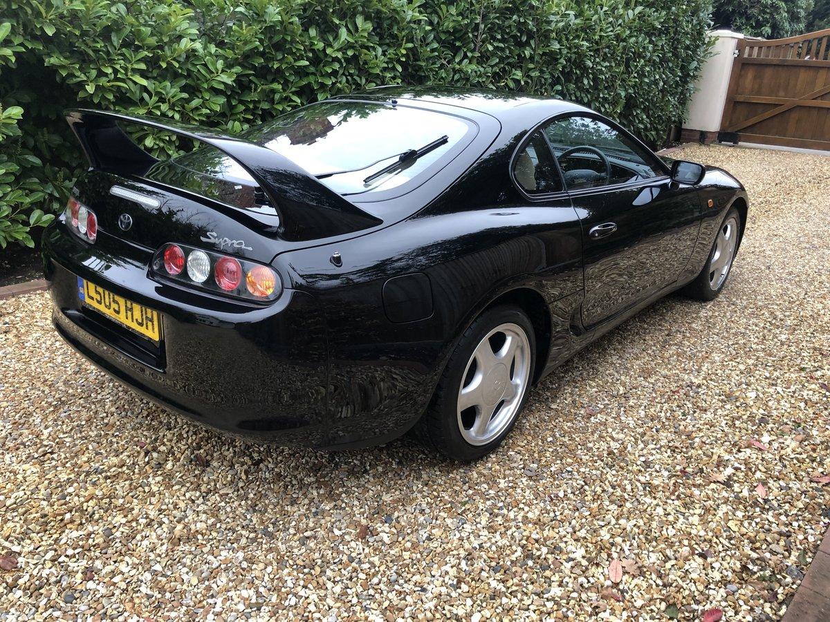 1994 TOYOTA SUPRA AUTO - UK CAR - FTSH SOLD (picture 5 of 6)