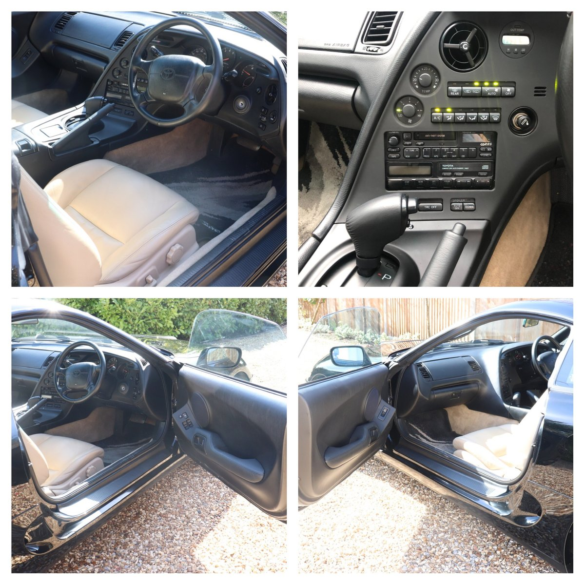 1994 TOYOTA SUPRA AUTO - UK CAR - FTSH SOLD (picture 3 of 6)