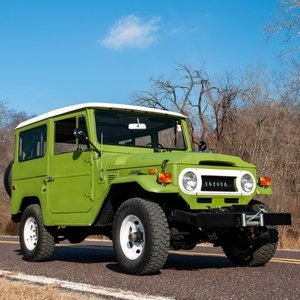 1971 Toyota FJ-40 Land Cruiser Hardtop = 46k miles  $18.9k For Sale