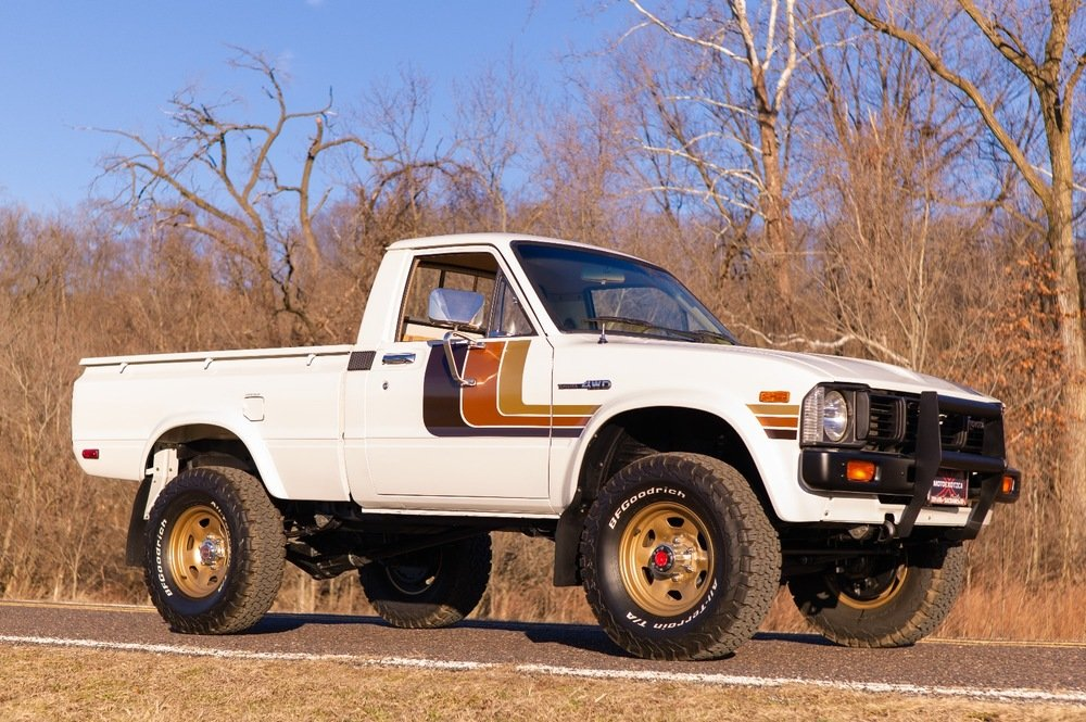 Phenomenal 1981 Toyota 44 Hilux Truck Sr5 Full Restored 55 9K For Pabps2019 Chair Design Images Pabps2019Com