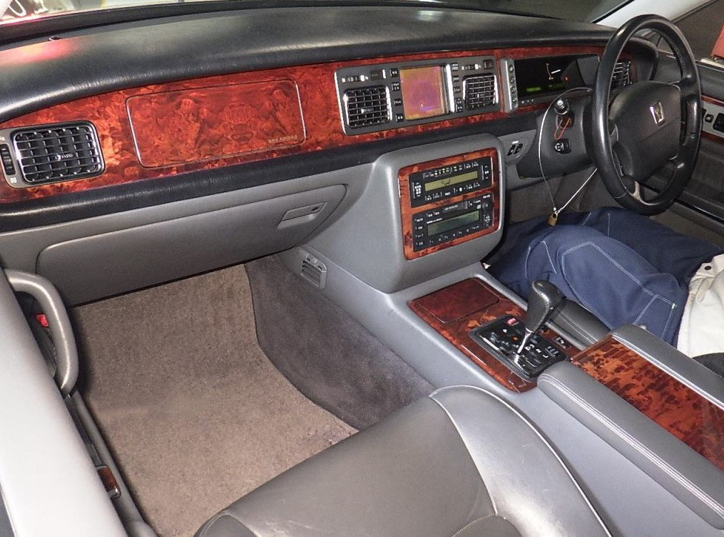 1997 TOYOTA CENTURY REDESIGNED 5.0 V12 * JAPANESE EQ MAYBACH  For Sale (picture 4 of 5)