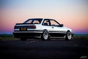 1986 AE86 Corolla Levin For Sale