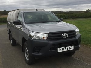 2017 TOYOTA HILUX 2.4 D4d SINGLECAB PICKUP For Sale