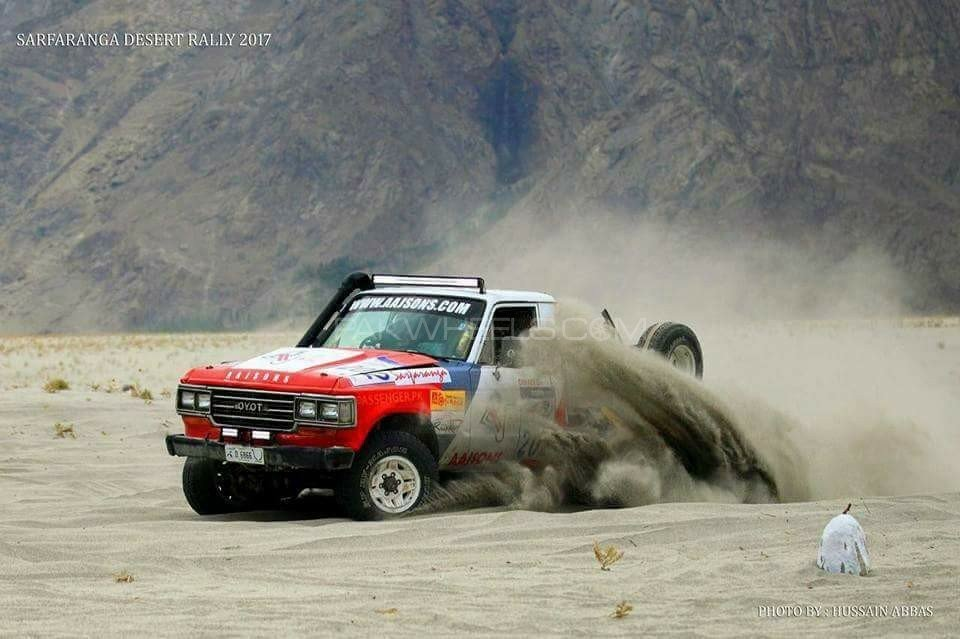 1983 Desert Rally Competition Race Vehicle For Sale (picture 1 of 6)