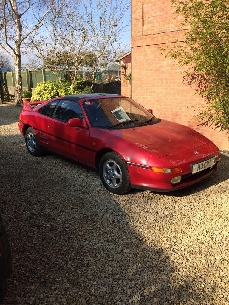 1990 Toyota MR2 Mk2 GT TBar For Sale (picture 3 of 4)