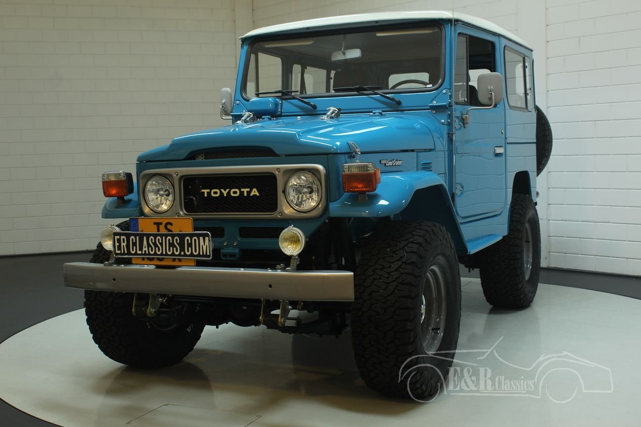 Toyota FJ40 Landcruiser 1982 special Restomod For Sale (picture 5 of 6)