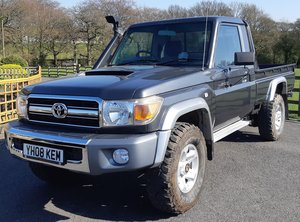 2008 Toyota Landcruiser Pick Up For Sale