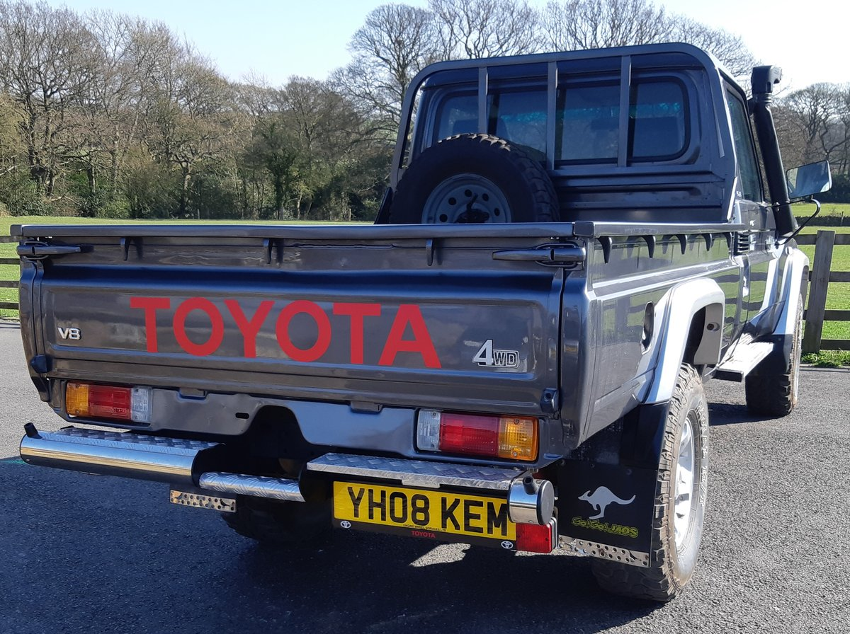 2008 Toyota Landcruiser Pick Up For Sale (picture 4 of 6)