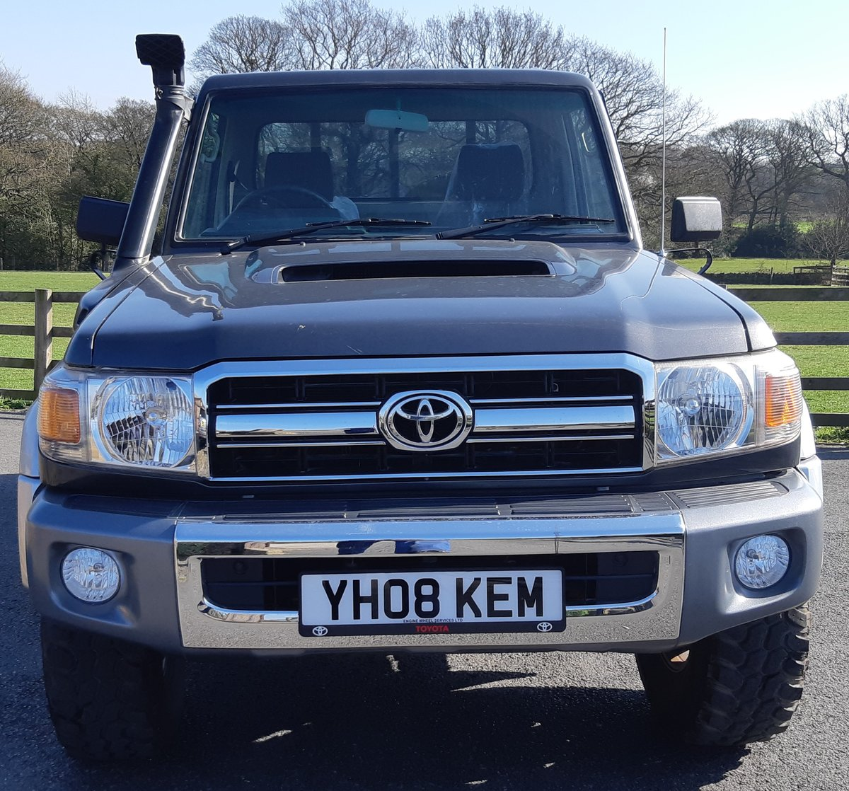 2008 Toyota Landcruiser Pick Up For Sale (picture 5 of 6)