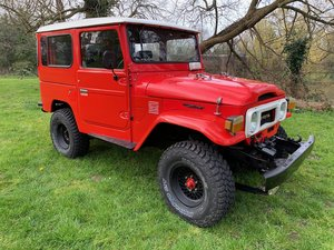 Toyota Land Cruiser FJ40 1970 Power steering Restored RHD For Sale