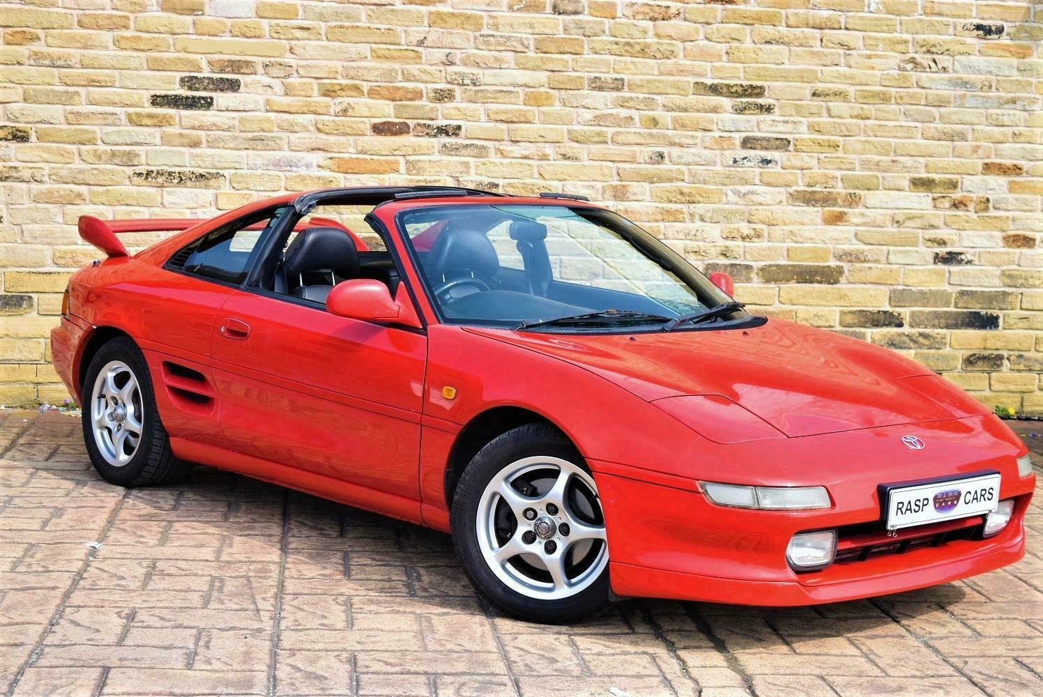 1999 T MR2 T-bar Rev-5 UK CAR  [21 TOYOTA STAMPS] SOLD (picture 1 of 6)