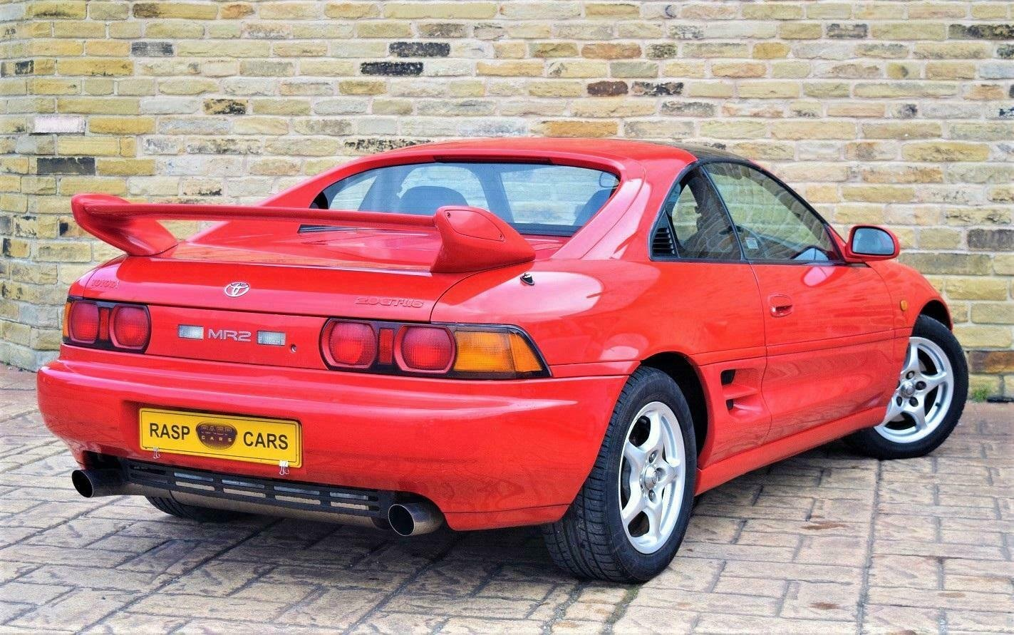 1999 T MR2 T-bar Rev-5 UK CAR  [21 TOYOTA STAMPS] SOLD (picture 2 of 6)