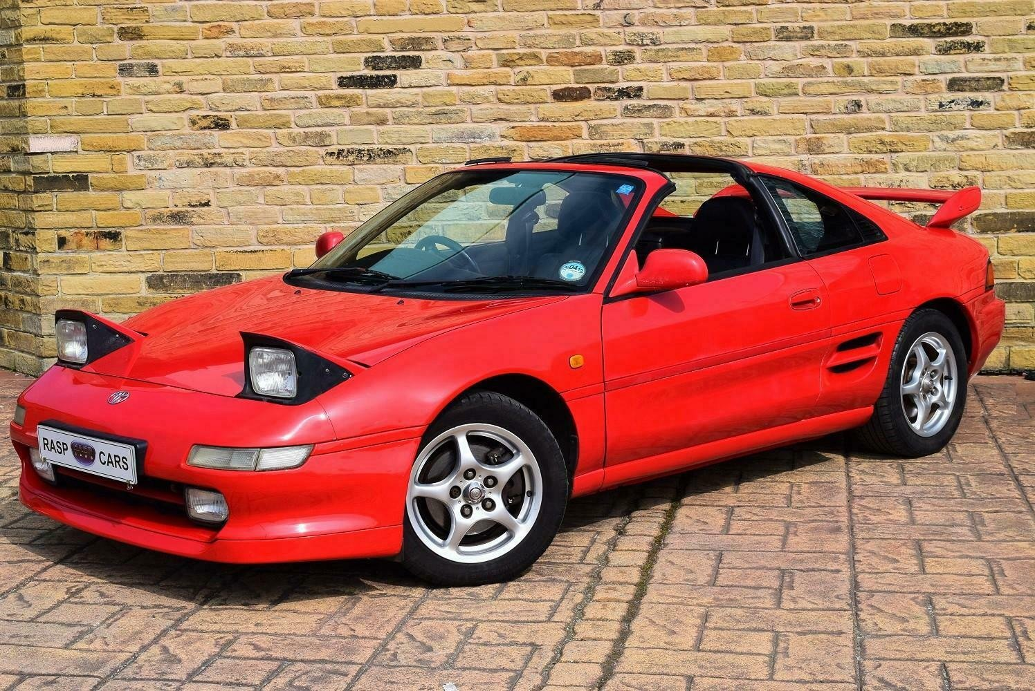 1999 T MR2 T-bar Rev-5 UK CAR  [21 TOYOTA STAMPS] SOLD (picture 3 of 6)