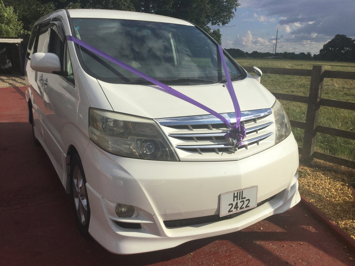 2006 Toyota alphard 8 seater SOLD (picture 1 of 3)
