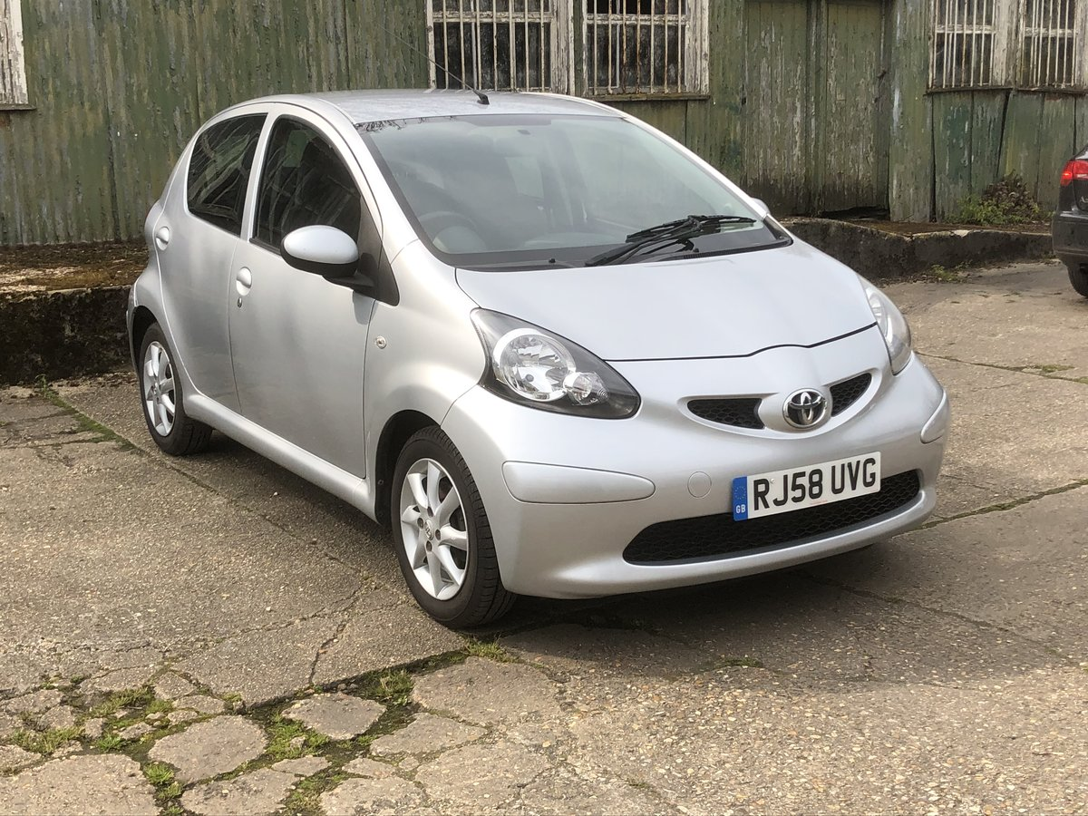 2008 Toyota Aygo 1.0 5 door £20 tax Driveaway For Sale (picture 2 of 6)