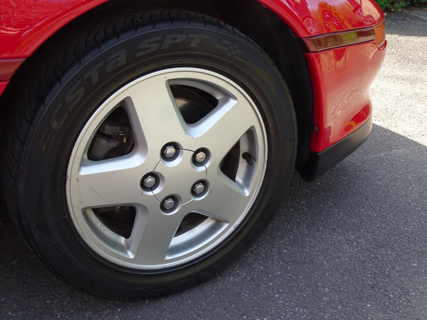 MR2 MK2 1993 red reduced price For Sale (picture 5 of 6)