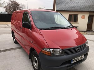 2006 TOYOTA HIACE MINT VAN 1 OWNER FSH £4995 OFFERS PX?  For Sale