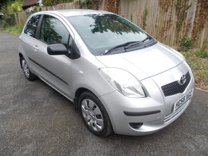 2007 TOYOTA YARIS T3 LOW MILES WITH FULL SERVICE HISTORY For Sale