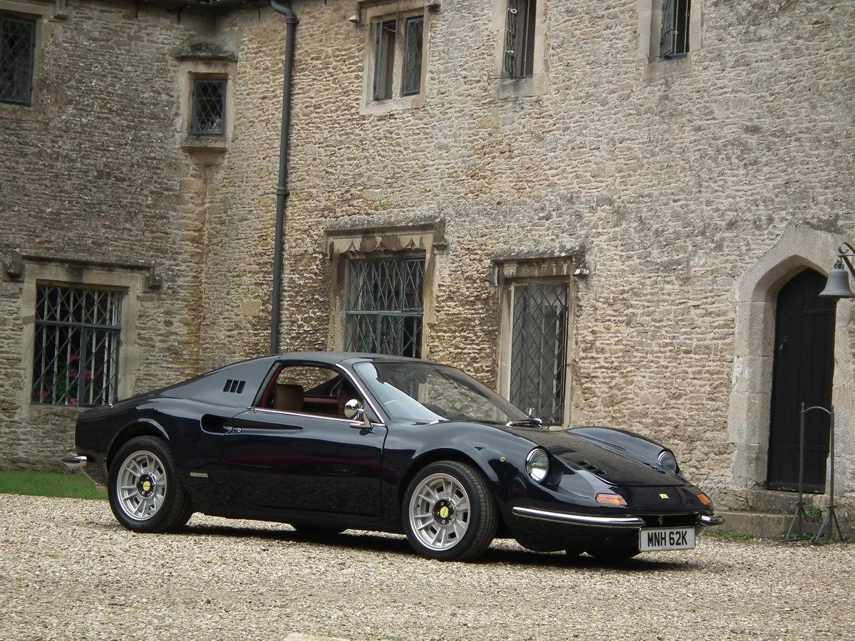 1993 Superb Dino DGT 306 GTS Ferrari Blue Pozzi 3 Litre For Sale (picture 1 of 6)