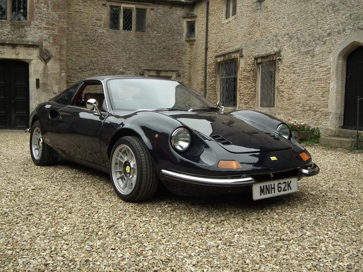 1993 Superb Dino DGT 306 GTS Ferrari Blue Pozzi 3 Litre For Sale (picture 2 of 6)