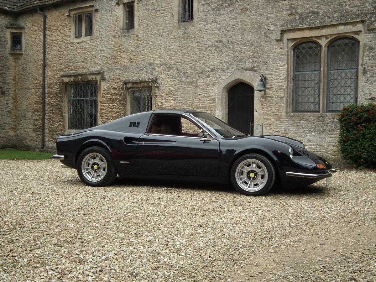 1993 Superb Dino DGT 306 GTS Ferrari Blue Pozzi 3 Litre For Sale (picture 3 of 6)