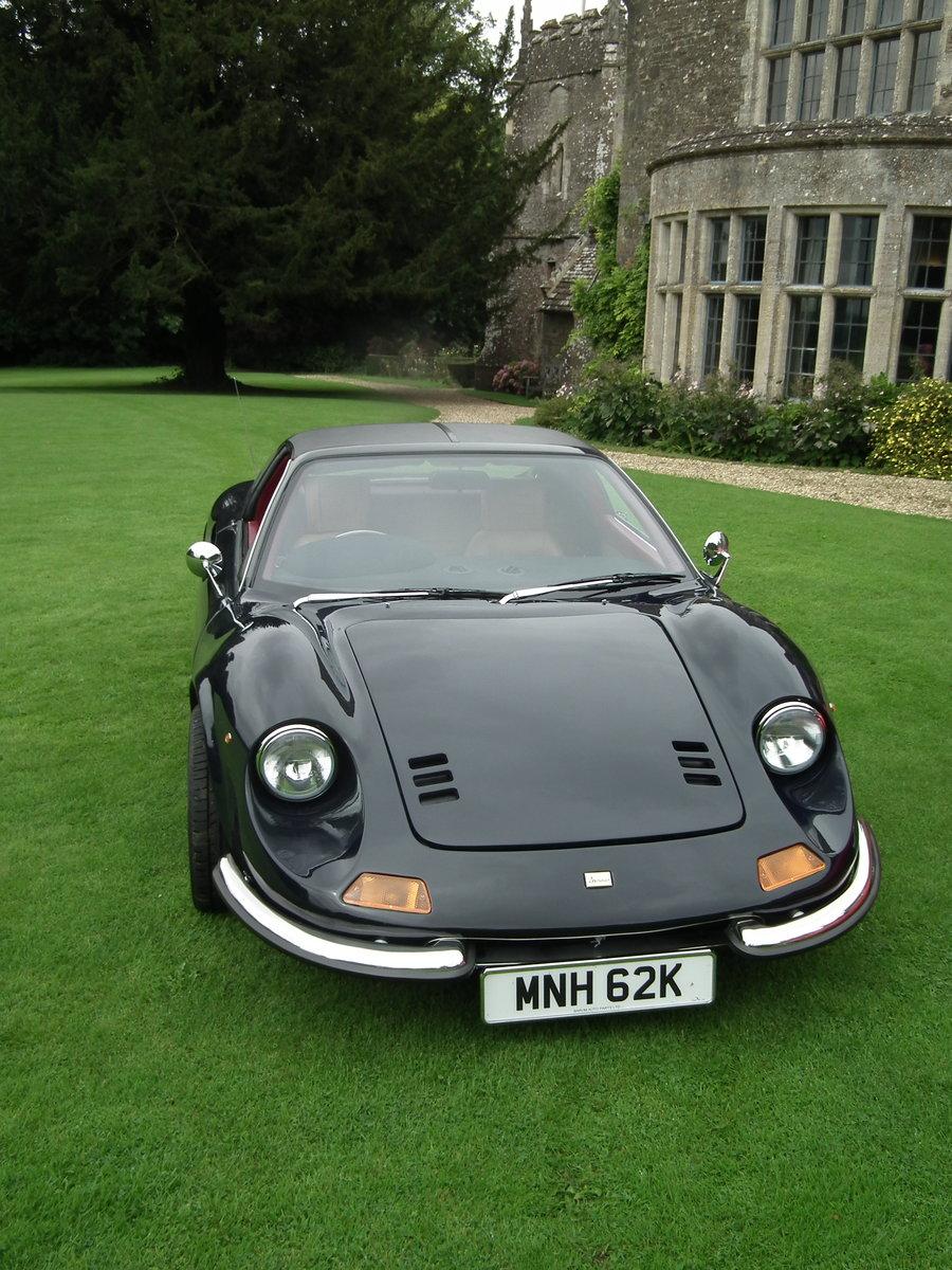 1993 Superb Dino DGT 306 GTS Ferrari Blue Pozzi 3 Litre For Sale (picture 5 of 6)