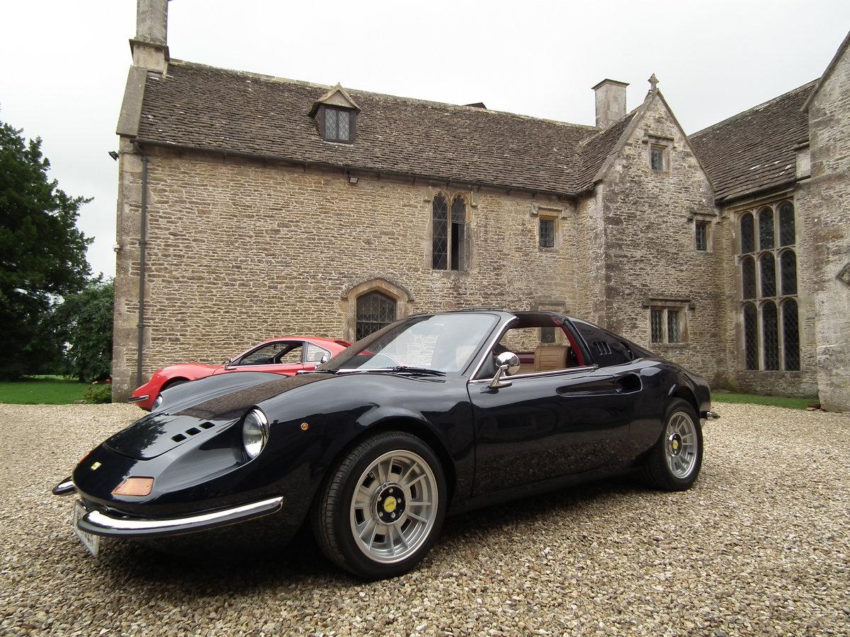 1993 Superb Dino DGT 306 GTS Ferrari Blue Pozzi 3 Litre For Sale (picture 6 of 6)