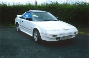 1986 MR2 MK1 For Sale