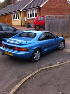 MR2 1992 gt t-bar. Leather. air-con. 77,600 miles. For Sale