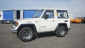 C. 1987 Toyota Land Cruiser Short Wheelbase For Sale by Auction
