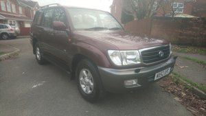 2002 Land Cruiser Amazon 4.2 TDi For Sale