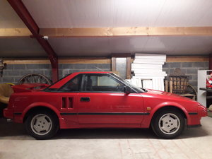 1986 TOYOTA MR COUPE For Sale by Auction