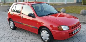 1996 STARLET 1.3 SPORTIF 1 LADY OWNER 62K MILES FSH  For Sale