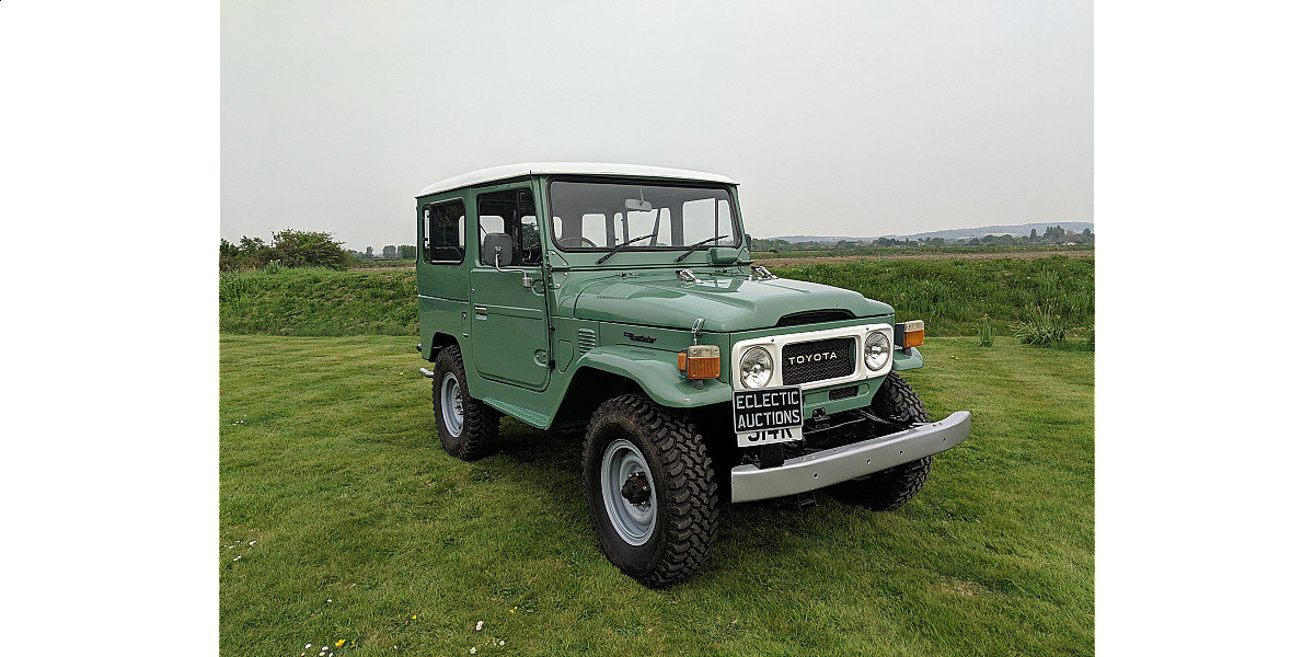 RHD 1977 Toyota FJ40 2Fpetrol Japanese factory Land cruiser  For Sale (picture 1 of 6)