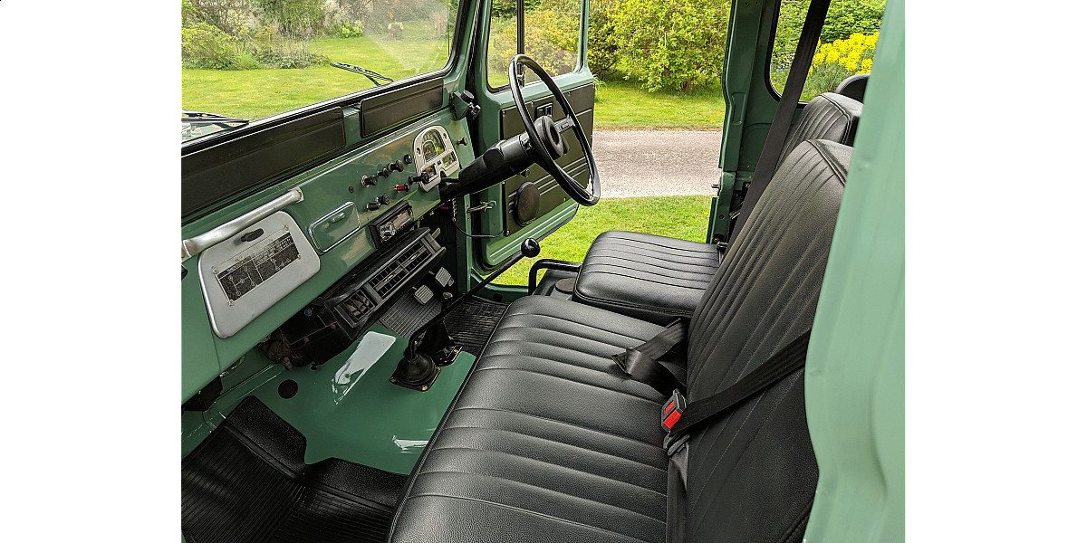 RHD 1977 Toyota FJ40 2Fpetrol Japanese factory Land cruiser  For Sale (picture 4 of 6)