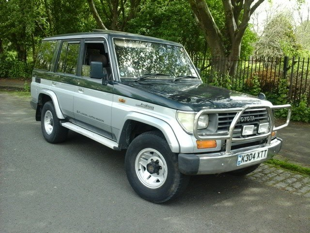 1992 Toyota Land Cruiser at Morris Leslie Auction 17th August For Sale by Auction (picture 1 of 6)