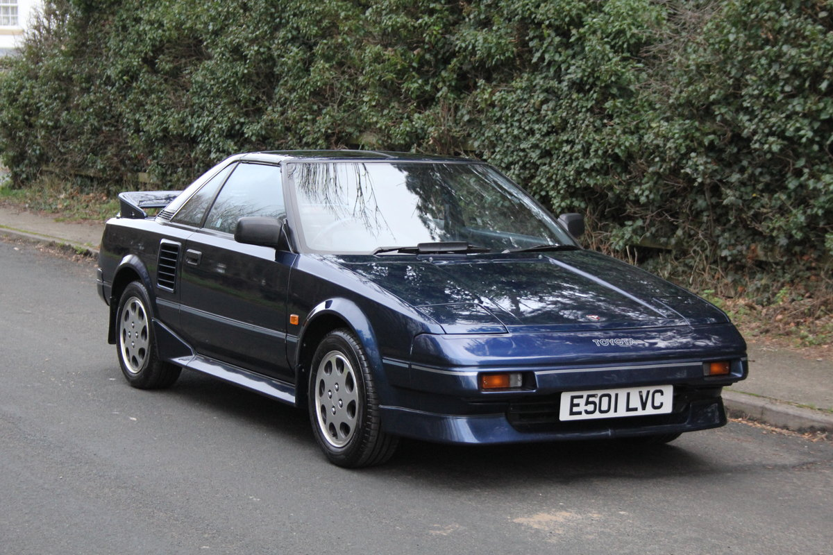1988 Toyota MR2 MKI, UK Car, 63k miles, exceptional SOLD (picture 1 of 12)
