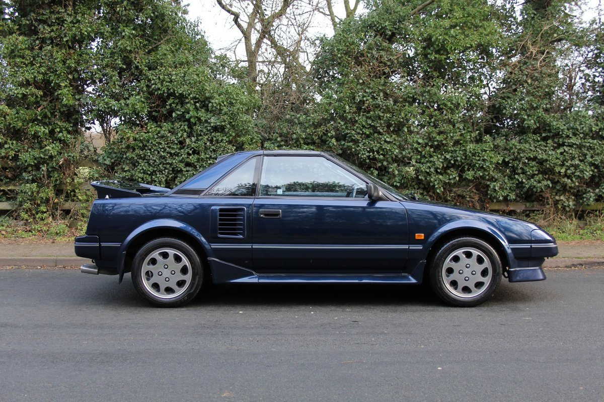 1988 Toyota MR2 MKI, UK Car, 63k miles, exceptional SOLD (picture 5 of 12)