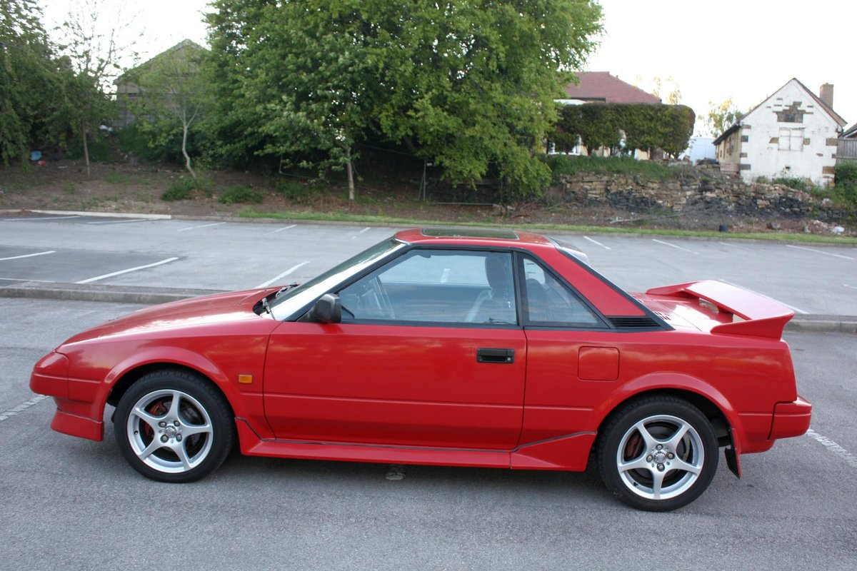 1989 TOYOTA MR2 MK1 1.6 HPI CLEAR - AW11 - 114K MILES For Sale (picture 2 of 5)