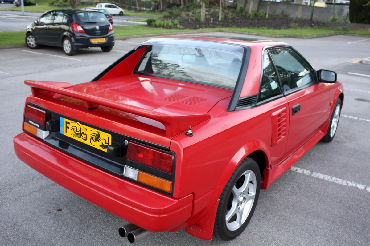 1989 TOYOTA MR2 MK1 1.6 HPI CLEAR - AW11 - 114K MILES For Sale (picture 3 of 5)
